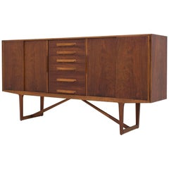 Sideboard in Walnut by Kurt Østervig