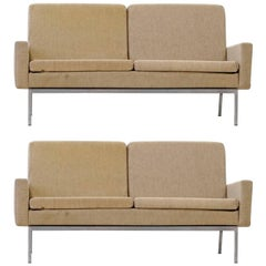Two, Two-Seat Sofa by Florence Knoll International Modell 27 BC