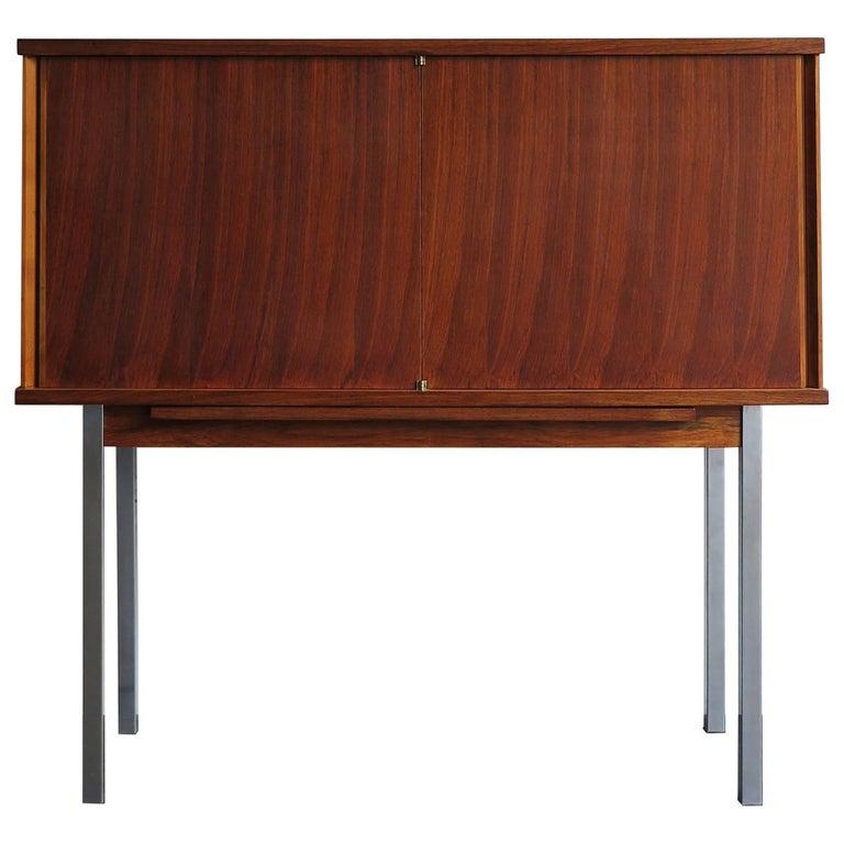 1960s Alfred Hendrichx Mid-Century Modern Belgium Rosewood Buffet Cabinet