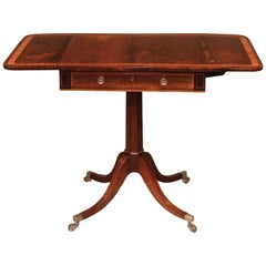 Regency Period Small Rosewood Sofa Table