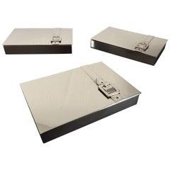 Maria Pergay Buckle Boxes