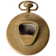 Carl Auböck Brass Pocket Watch Opener