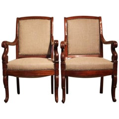 Good Pair of 19th Century French Fauteuils