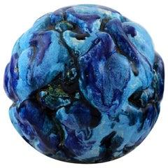 Henrik Bruun, Spherical Unique Ceramic Sculpture Modeled with Infants