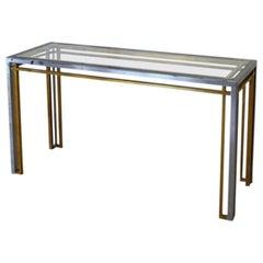Romeo Rega Attributed Console Table, Italy