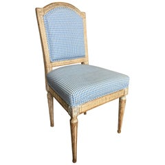 Louis XVI Upholstered Side Chair