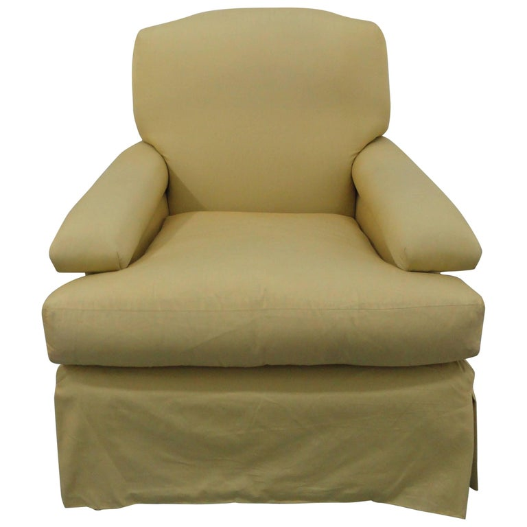 Classic Upholstered Club Chair