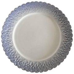 Royal Copenhagen Art Nouveau Plate with Clovers