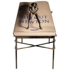 Contemporary Modern Helmut Newton Big Nude Sumo Book Stand Signed Numbered