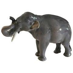 Royal Copenhagen Figurine of Elephant No. 1376