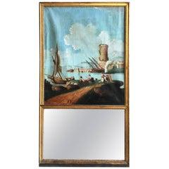 18th Century Louis XVI Trumeau, La Rochelle