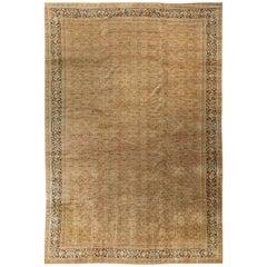 Oversize Persian Tabriz Rug carpet Circa 1900