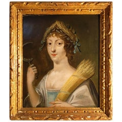 Early 18th Century Italian Portrait of Demeter