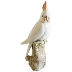 Rare Royal Copenhagen Cockatoo Figurine #1479