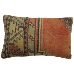 Small Size Bolster Turkish Rug Pillow