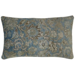 Light Blue Persian Rug Pillow