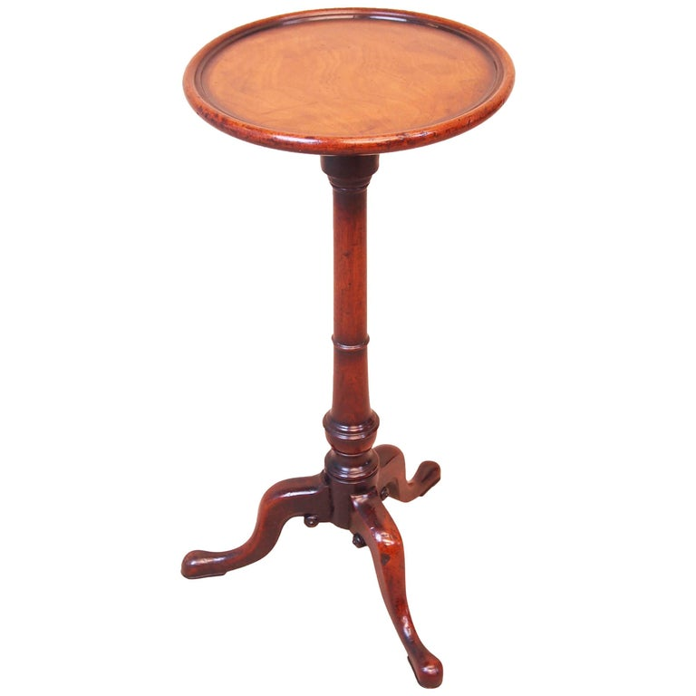Antique 18th Century Mahogany Wine Table