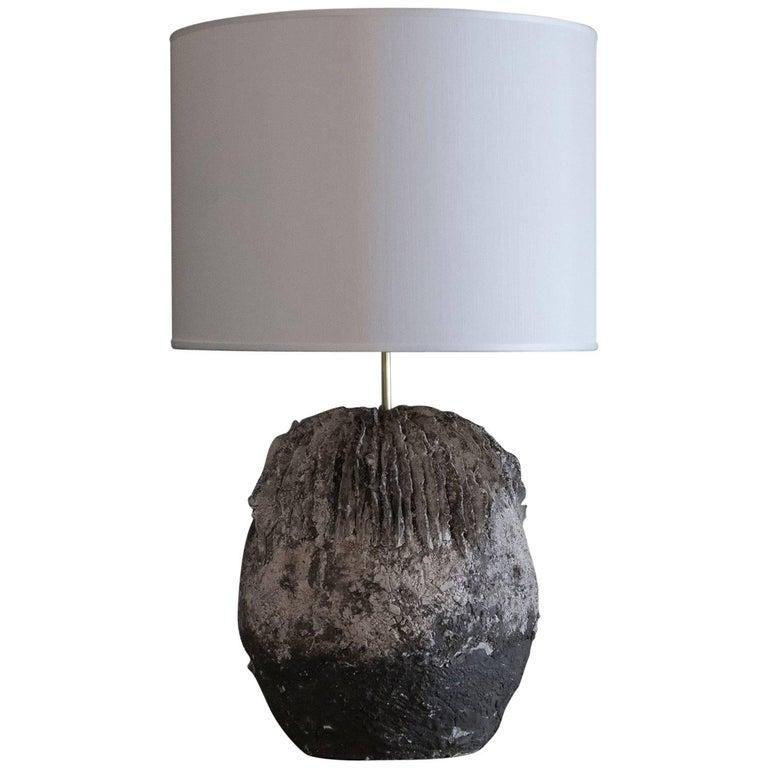 Flair Edition Brutalist Ceramic Lamp
