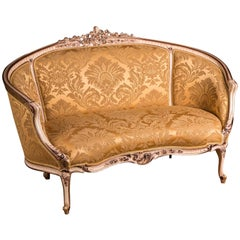 Elegant French Sofa Canape in Louis Seize Style