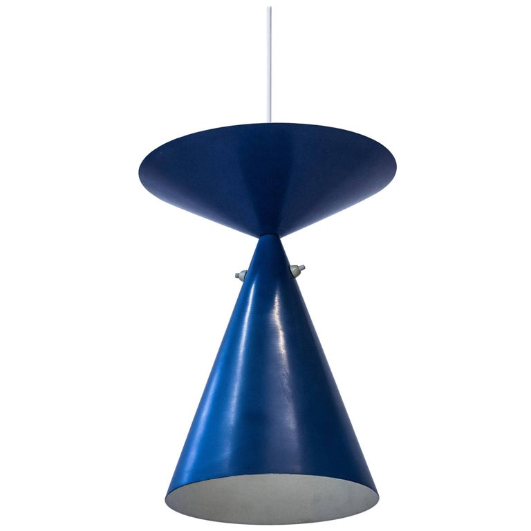 Rare Ceiling Lamp by Bertil Brisborg, Sweden, circa 1950 For Sale