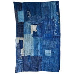 Vintage Japanese Boro Textile