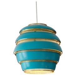 Vintage Alvar Aalto Beehive Ceiling Light