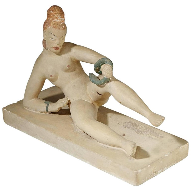 Sculpture by Nils Fougstedt, Sweden, 1930s