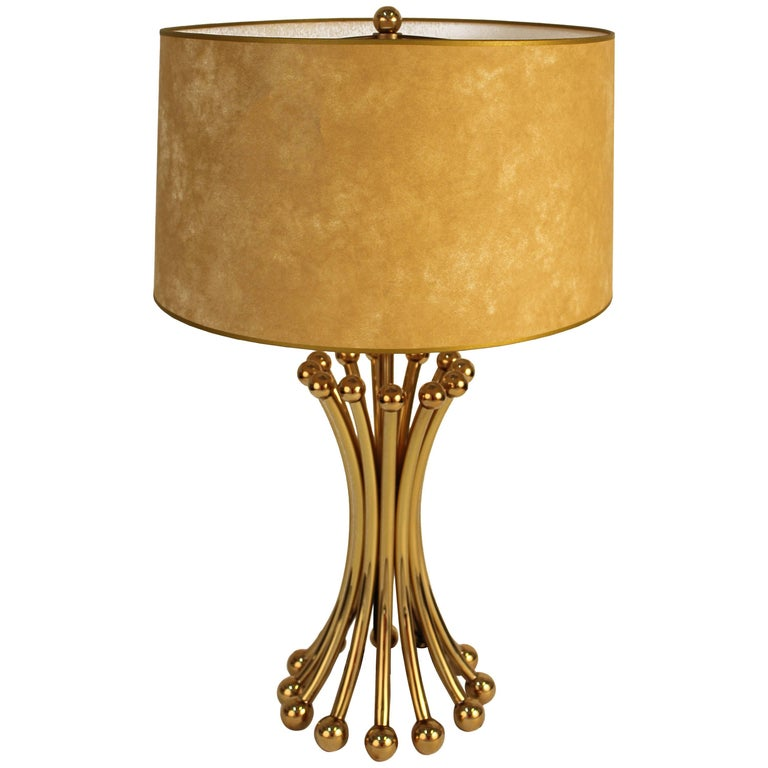 Mid Style Table Lamp in the Manner of Jean Royère