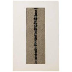 """Painting """"Line"""" by Inger Ekdahl, Sweden, 1963"""