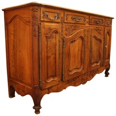 Late 19th Century French Walnut Enfilade