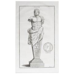 Jupiter a Copperplate Engraving