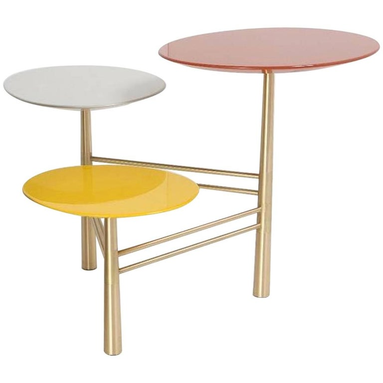 Pebble Side Table by Nada Debs For Sale