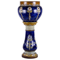 Royal Doulton Jardinière on Stand, circa 1920