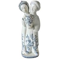 Royal Copenhagen Georg Thylstrup Figurine of Man and Woman #1618