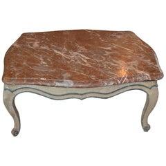 Louis XV-Style Gris Peinte Table