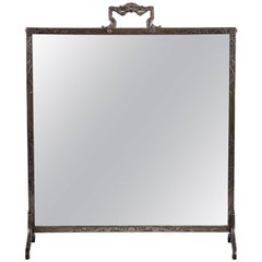 Sterling Silver Table Mirror, circa 1900
