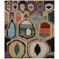 Sedona Multicolored Hand-Knotted Rug
