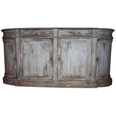 Hand-Painted Pine Italian Buffet or Credenza