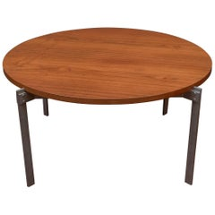Danish Teak Round Coffee Table