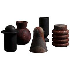 Monolith Series in Combarbalita Stone by Rodrigo Bravo