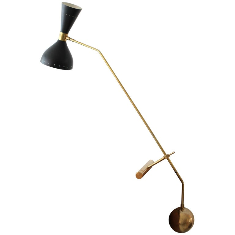 Italian Counterbalance Desk Lamp For Sale
