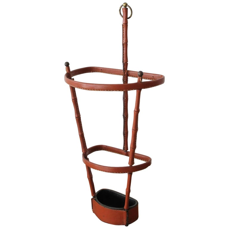 Jacques Adnet Umbrella Stand For Sale
