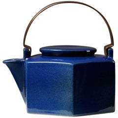 Teapot Designed by Signe Persson Melin for Rörstrand, Sweden, 1970s