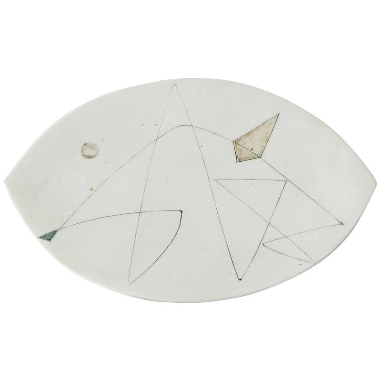 Dish, Designed by Sakari Vapaavuori for Arabia, Finland, 1950s