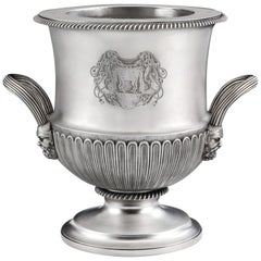 Important George III Classical Wine Cooler by William Eaton