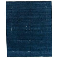 21st Century Blue Gabbeh Style Rug