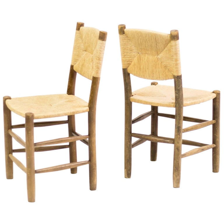 Charlotte Perriand Pair of Chairs