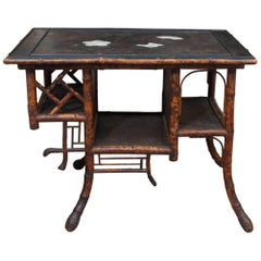 Bamboo Chinoiserie Table