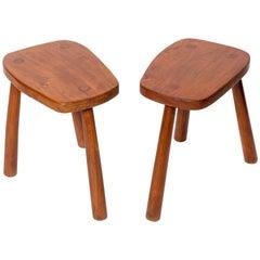 Wooden Tabourets