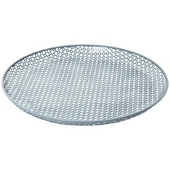 Perforated Enameled Platter by Mathieu Matégot